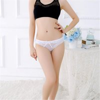 Women's Panties Sexy Lingerie Ropa Mujer Underwear Women Lenceria Tanga Thong Fashion Solid Color Transparent Lace Comfortable