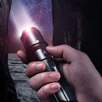 Home Recarregável Lanternas Super Bright Long S multifuncional Xenon Portable Taschenlampe LED Work Light Light Di50sd Torches