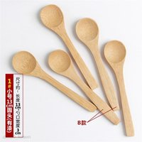 13cm Honig Kleine Holzlöffel Kreative Bambuslöffel Mini Baby Umweltfreundlich