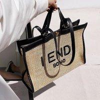 Designer high-end Beach Bag Days Days Mother's Days Portafoglio Estate Grande paglia Lettera San Valentino Wovenlarge Bags per le donne Capacità Fashion Advanced Versatile