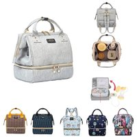 Diaper Bag Mummy Maternity s For Baby Stuff Small Nappy Changing Backpack Moms Travel Women Stroller Organizer 210923