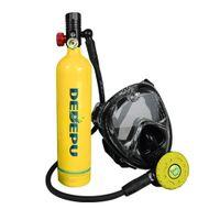 DEDEPU Diving Mini акваланга Аксессуары для подводных аксессуаров для дайвинга Модель Кислород подводное дыхательное оборудование набор