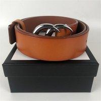 Alta Qualidade dos homens de luxo Designers Cintos Cintura Ceinture Femmes Gürtel Moda Cinto de Couro Largura 3.8cm com caixa