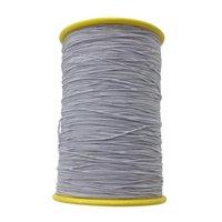 0.5mm Alta Estiramento Redondo Corda Acessórios De Costura Waistband String Elástica Casa Durável Handmade Beading Artesanato DIY Hem Fio