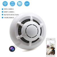 NEW 1080P HD Mini WiFi Camera Remote View Motion Detection IP Cam Audio Video Recorder Wireless Home Ceiling Surveillance Monitor