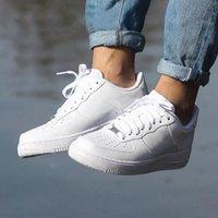 Marka İndirim Klasik Hava Kuvvetleri Ayakkabı Erkek Kadın AF1 Hava Flyline Force 1 Koşu Ayakkabıları Spor Kaykay Onlar Shoess Yüksek Düşük Kesim Beyaz Siyah Eğitmenler Sneaker A4AP #