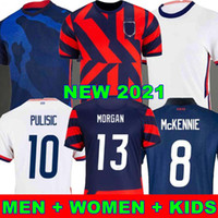 USA 2020 Pulisic McKennie Soccer Jersey ertz Altidore 2021 Presse Wood Morgan Lloyd America Football Jerseys Etats-Unis Chemise Camisetas Usmnt lletget Men + Enfants World Cup