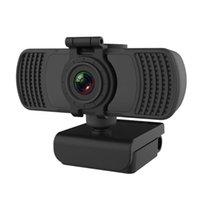 Webcams webcam incorporado microfone USB câmera web com cobertura de privacidade mini tripé digital gravador de vídeo para escritório em casa