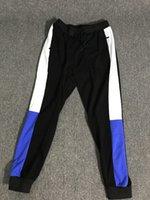 Pantalon pantalon de mode automne marque de mode pour hommes piste joggeurs avec lettres printemps hommes pantalons de survêtement cordon de vêtement extensible Vente en gros taille asiatique taille