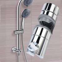 Chrome-plated Adjustable Shower Rail Bracket Slider Slide Retainer High Quality Bathroom Meet Socket Bath Accessory Set
