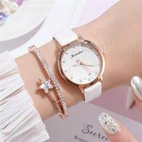 Armbanduhren Retro Rose Blume Zifferblatt Design Damen Uhren Frauen Mode Luxus Kleid Uhr Wasserdicht 2021 Lässige Frau Quarz Lederuhr