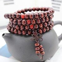 سحر أساور الديكور أنيق التبت الملحقات البوذية الصلاة الخرزة هدية السفر الصينية عقدة اليدوية مجوهرات النساء سوار
