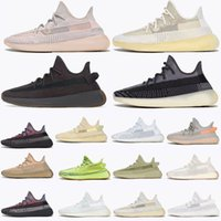 adidas yeezy yeezys yezzy yezzys 350 boost Kanye Men V2 Running Outdoor Scarpe Riflettente Ovest Mono Clay Ice Mist Donne Donne Ash Blue Pearl Stone Cinder Zyon Trainers