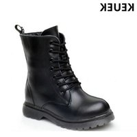 New Arrival Children Motorcycle boots Genuine leather Martin Autumn Winter Boys Girls shoes Kids Snow 020