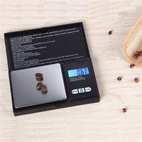 Mini Pocket Scale numérique sans batterie 100g 200g 500g 1000g Bijoux de pièces de monnaie Pesée Balance Cuisine Cuisine Électronique Fumeurs Accessoires