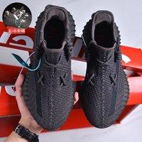 Kanye corrida sapatos cinzas azuis zebra cinder pérola luz luz 3m reflexivo israfil asriel linho treinadores homens mulheres top qualidade com caixa tamanho US11111 mil
