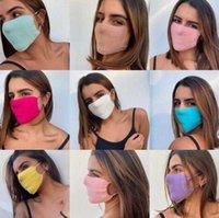 Designer Masks Fashion Sweater Cycling Mouth Washable Reusable Anti Dust Warm Ski Black Cotton Face Mask N5AU