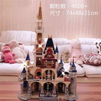 toyCompatible with LEGO Di Schneider Castle Street View Architecture Han Shangyan, the same 71040 adult assembled building block toyfidget