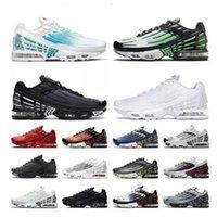 TN 3 a tourné 2021 Plus 2 Big Taille US 12 Chaussures de course Tennis Sports Sports Mens Femmes Tous Black Bright Neon Rugby White Hommes Femmes Formatrices Jogging en plein air Promenade EUR 36-46