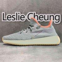 Adidas Yeezy Sply Boost 350 Shoes جديد  Yecheil احذية Yeezreel Yeehu الأسود ثابت 3M عاكس رجل المرأة الاحذية سحابة الأبيض الأحذية المدى