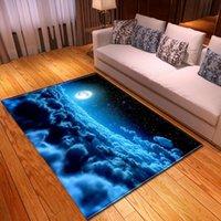 Nordic Stampa 3D Tappeto morbido flanella per bambini Area giochi a tappeti da tappeti partol galassia Spazio tappetino / tappeto Home Grandi tappeti per l'arredamento di salotto