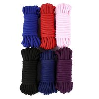 2m 5m 10 M Cotton Rope Female Adult Sex Products Slaves BDSM Bondage Soft Games Binding Role-Playing