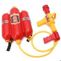 Дети Fireman рюкзак сопла водяной пистолет пляж открытый игрушечный огнетушитель Sustaker 210803