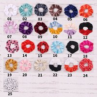 Girls Hair Accessories Tie Hairbands Bands Baby Headbands Cute Children Sequin Kids Headband Bows Bowknot Party Christmas Accessory B6980