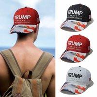 US Stock Trump Hat Camouflage Cap Baseball Caps Amerika Great Hat 2024 USA VD Val Val Amerikanska Broderi Brev Utskrift Sun Hattar Hip Hop Hats Peaked Cap