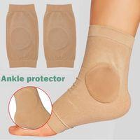 Supporto alla caviglia 1 paio di calze di protezione ossea maniche malleole con pastiglie di gel per stivali / pattini / stecche / bretelle ha