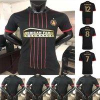 2021 G. MARTINEZ Version joueur Mens FC Soccer Jerseys Atlanta Un Uniformes de chemise de football de Barco Robinson