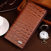 Wallets 2021 Fashion Men Clutch High Quality PU Leather Alligator Texture Wallet Male S Holder Coin Pocket Purses