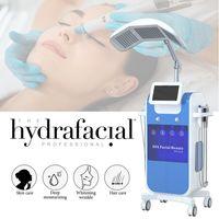 Vácuo Hydro DermaaBrasion Descascando Máquina Facial Diamante Peel Spa Bio Levantando RF Máquinas Tratamento Acne