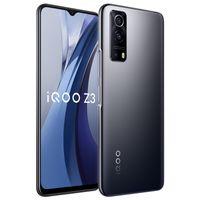 Original vivo IQOO Z3 5G Mobiltelefon 8 GB RAM 128GB 256GB ROM Snapdragon 768G Android 6,58 Zoll Vollbild 64MP 4400mAh Fingerabdruck-ID Gesichtswege Smart-Handy