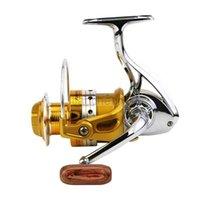 BE1000-7000 Yumoshi Полный металлический рыболовный катушка моря колесо дороги подсорасшедшие барабаны