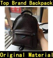 Дизайнер рюкзак высокого качества цветок печати роскошные известные бренды натуральные кожаные сумки детей детей рюкзаки школьные сумки M41560 41561