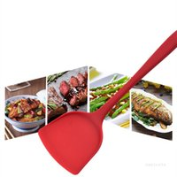 Cooking Utensils Kitchen cooking spoon does not stick to wok stir fry with silicone spatula Kitchen Tools T2I52199