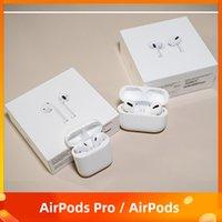 AP3 AP2 1: 1 Airpods Pro Air H1 Chip Renomear GPS Fones de ouvido Bluetooth sem fio Bluetooth 2 Earbuds 2º fone de ouvido de geração com número de série válido