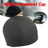 Bike Motorcycle Helmet Inner Cooling Cap Moisture Wicking Breathable Skull Sweat Band Half Helmets Liner Beanie Caps Heat Dissipation Bicycle Accessories
