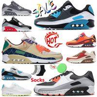 nike air max airmax 90 mens büyük boy us 12 koşu ayakkabısı iz takımı 90'lar spor ayakkabı süpernova glasgow klasik siyah kızılötesi açık hava spor ayakkabı eur 36-46