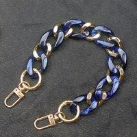 Bag Parts & Accessories DIY Lady Handbag Strap Top Handle Stripe Good Chain Phone Case Multifunctional High Quality Plastic