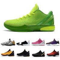 grinch bhm proto 6 رجل كرة السلة الأحذية 6s البديل بروس لي التفكير الوردي الثلاثي الأسود ديل سول الرجال المدربين في المشي الركض الرياضة رياضة 40-46