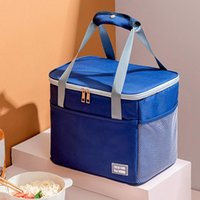 Storage Bottles & Jars 1pc Thermal Insulation Bag Lunch Box Aluminum Foil Student Thickened Waterproof Portable