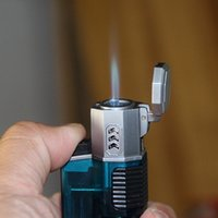 Pistola a spruzzo lighter lighter light Single Singolo gonfiabile per la lavorazione della porcellana creativa che elabora il piccolo accendino antivento della torcia di saldatura