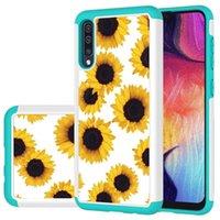 LG K40 LV3 2018 Stylo 5 6 V60 K3 2019 K51 K31 Armor Hybrid Case Hard Layer Dual Flower Shockproof Butterfly Tree Phone Cover
