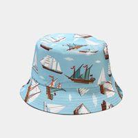 2021 Primavera estate creativo cartone animato modello animale secchio cappello cappello pescatore cappello da viaggio all'aperto cappello da sole cappelli per uomo e donne 126