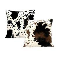 Милая корова шаблон подушка подушка черная белая бархатная подушка чехол мило животных картина искусства автомобиль диван домашний декор подушка подушка подушка 583 v2