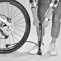 Rockbros OEM / ODM 허용 120 Psi 타이어 핸드 휴대용 알루미늄 합금 MTB 도로 자전거 자전거 펌프