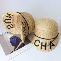 Cap Mektubu Nakış Hasır Şapka Binicilik Beyzbol Ördek Cap Çok Yönlü Güneş Kremi Bahar ve Yaz Sade Tatil