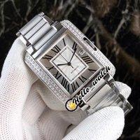 36mm Fecha W5310008 WT100004 Relojes Dial blanco Miyota 8215 Reloj automático para hombre Brazalete de acero inoxidable Sport Diamond Bezel Hello_Watch